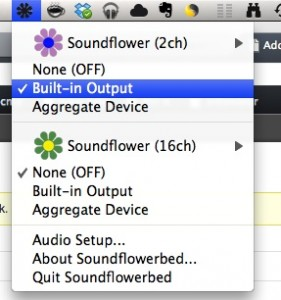 Soundflowerbed Output